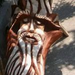 Gellér Csaba fafaragó munkái